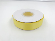 Bright yellow. High End Thick . 2.5cm 50 Yards Roll Ribbons