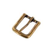 2630cm Antique Brass, Heel Bar Buckle, Solid Brass-LL