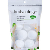 Bodycology Pure White Gardenia Bath Soak Fizzies Bombs 8 - 60ml Balls