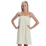 Spa Wrap Towel Bath Wrap One Size Adjustable Beige