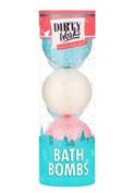 Dirty Works Bath Bombs, 3 Bombs