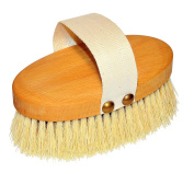 Dry Skin and Body Brush Vegan with long Tampico fibre bristles for Anti Cellulite, Circulation and Exfoliating 13cm by Nessentials