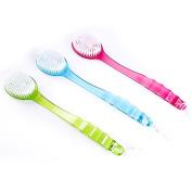Rabake Bath Brush Shower Back Scrubber Long Handle Body Back Brushes