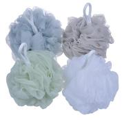 Bath Shower Sponge, Pouffe Loofahs Mesh Brush Shower Ball, Mesh Bath and Shower Sponge