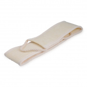 Back Scrubber, Breett Natural Back Rub Towel in Sisal Hemp Pull Back Strip
