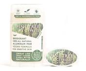 Live Beautifully Vegan Deodorant - Pine Tree & Cypress - Aluminium Free