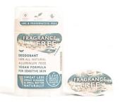 Live Beautifully Vegan Deodorant - Fragrance Free - Aluminium Free