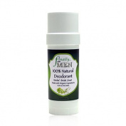 Finally Pure - Men's Herbal Fresh Scent Deodorant - 100% Natural, Aluminium Free - 60ml