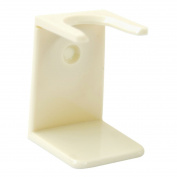 Ivory White Shaving Brush Drip Stand