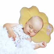 Nursing & Decorative Baby Pillow for Newborns and Infants Cloud Shape Yellow