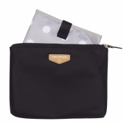 TWELVElittle Easy Nappy Pouch, Black