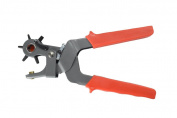 Bear Import TP4402 | Heavy Duty Revolving Leather Punch Plier | Range 2.0 - 4.5 Millimetre