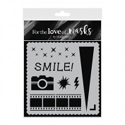Hunkydory For The Love Of Masks 14cm x 14cm -Say Cheese!