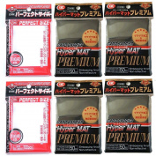 KMC Hyper Mat Sleeve Premium (200Pieces) & Card Barrier Perfect Size Soft Sleeves