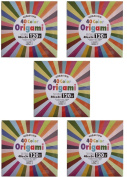 40 Colour Origami - 120 Sheets