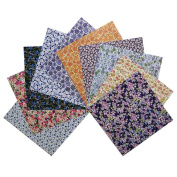Origami Folding Paper Chiyogami 100 Sheets, 15cm x 15cm , Flower Pattern Paper