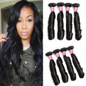 Mink Hair Spring Curl Hair Bundles 8A Brazilian Virgin Human Hair Extensions Natural Colour 100g/bundle