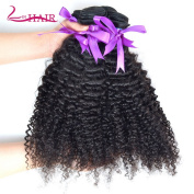 Lin Hair Unprocessed Brazilian Kinkys Curly Virgin Human Hair Weave 4 Bundles 100% Real Human Hair Can Be Dayed