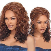 Europe and the big wavy bangs wigs ladies fashion long hair in high temperature wire pop loose wave