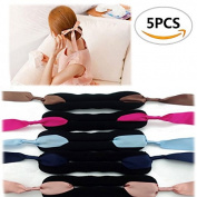5PCS Sc0nni Foam Sponge Hairstyling Curler Braid Ponytail Hair Style Styling Tool Party Hair Accessories