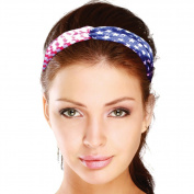 Star Spangled Patriotic 100% Polyester Headband