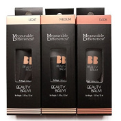 Measurable Difference Beauty Balm BB Cream Light Medium Dark 3PCS Set