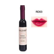 The Tinted Lip Stain, Htgtai RD03 Dark Red Lip Gloss Wine Lip Tint 7g Matt Lipstick Long Lasting Mac Lipstick For Lips