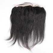Beata Hair Brazilian Virgin Hair Straight 33cm x 10cm Lace Frontal Closure Free Part Bleached Knots Baby Hair Full Lace Frontal Piece 50cm