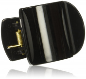 Mighty Hair Clamps Plain Clip, Black, Medium