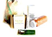 "Mountain Fresh Soaps ""Garden Goodness"" GIFT SET ~ Artisan, Organic, & All-Natural Soap, Lotion, Lip Balm, & Bath Salt"