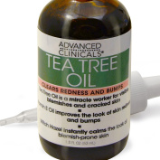 Advanced Clinicals 50ml Tea Tree Oil for Redness and Bumps.