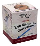 Andrea Eye Q'S Eye Make-Up Correctors Swabs 50 Count