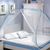 Free To Instal Yurts 1.2 / 1.5 / 1.8m Rice Bed Home Mosquito Net