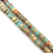 """COIRIS 15"""" Strand 3.2x6mm Beads Natural Real Stone For Jewellery DIY Making Design"""