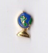 World Globe Floating Charm