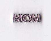 Pink Mom Floating Charm