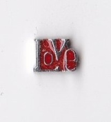 Love Red Floating Charm