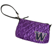 NCAA Team Colour Quilted Wristlet