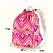 MENGMA Mummy Baby Nappy Nappy Changing Backpack Bag Large Capacity for Travel 2 Colours