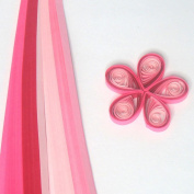 Tones of Pink - 5 mm - 100 Quilling Strips