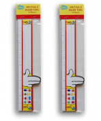 Dr Seuss Themed Writing and Ruler Tool - 8 Pc