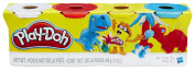 Play-Doh Modelling Compound, 120ml Cans, Primary Colours, Set of 4