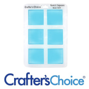 Silicone Soap Mould - Square Guest Silicone Mould 1609 Crafter's Choice