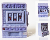 SoapRepublic Casino Slot Machine Silicone Soap Mould + a free soap stamp