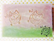 SoapRepublic Little owl Acrylic Soap Stamp / Cookie stamp