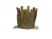 Barri Lynn Gold Crown Clip with Crystals