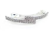Women's Full Rhinestone Hair Pin Barrette Clip Accessary for Bridal Wedding