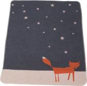Fussenegger baby blanket grey size 70x90 cm