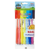 Super Value Pack 7ct BPA Free Kids Toothbrushes Step 3 for Ages 5-12 Years