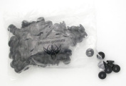 100 Precision Made Whole Grommets for Tattoo Machines by Precision Needles